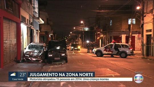 Homem que atropelou 15 e matou criança em SP pega 32 anos de prisão