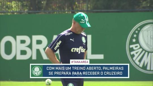 Em mais um treino aberto, Palmeiras se prepara para reencontro de Mano com Cruzeiro