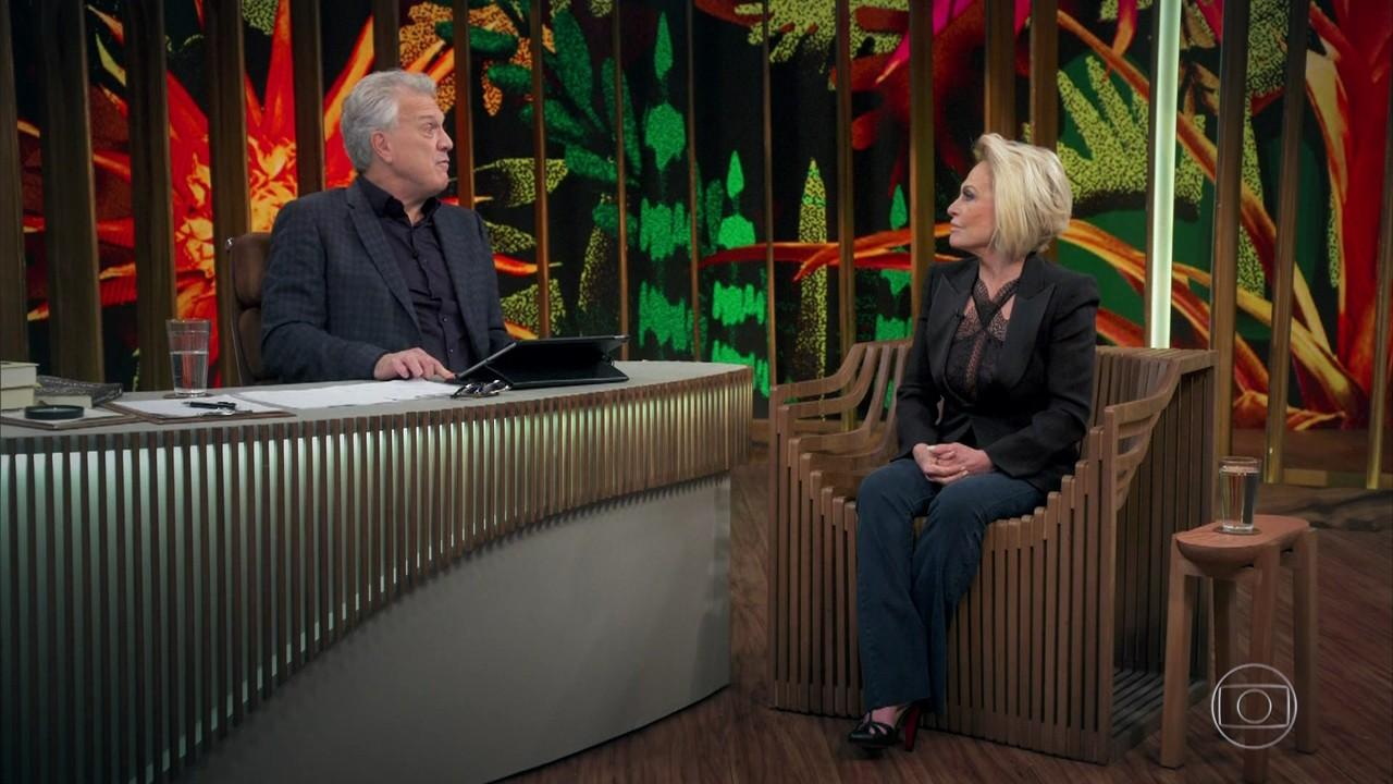 Ana Maria fala sobre a relação com Tom Veiga, o intérprete de Louro José