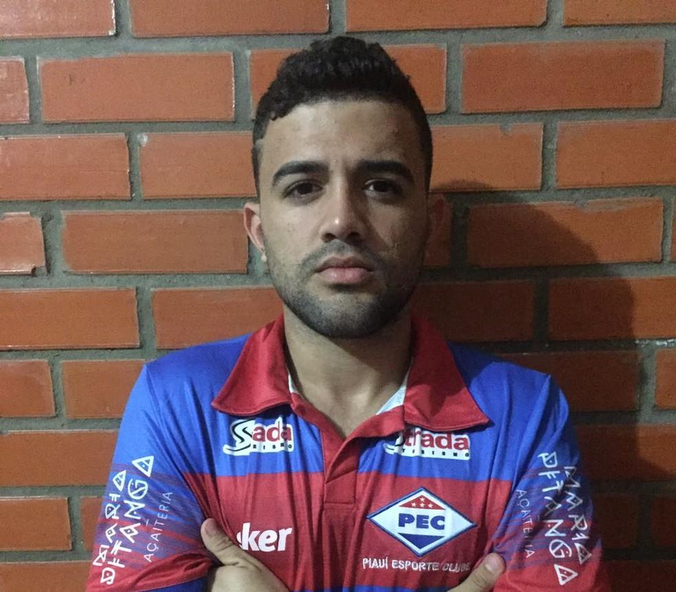 Júnior Maranhão, ex-Balsas, fecha a lista de anúncios do clube (Foto: Divulgação)
