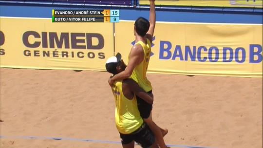 Evandro/André bate Guto/Vitor Felipe e leva 1ª etapa da temporada no MS