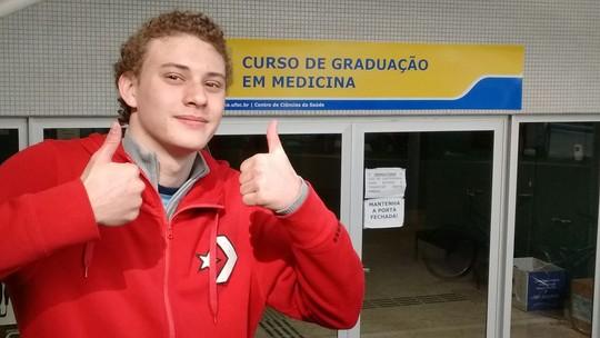 'Descolados' traz dicas de estudante aprovado em Medicina