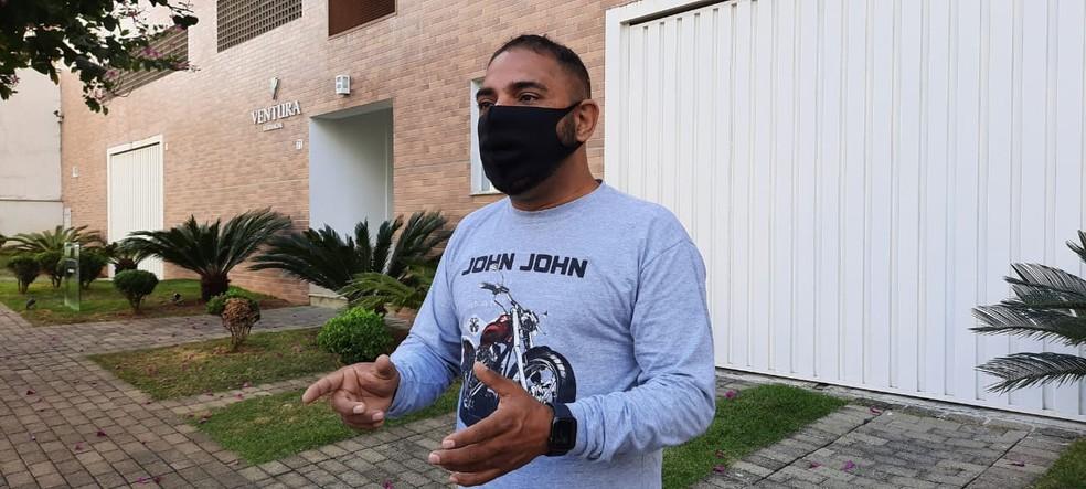Alberto Silva foi alvo de mandado de busca e apreensão da Polícia Federal em Poços de Caldas (MG) — Foto: Marcelo Rodrigues/EPTV