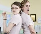 Alessandra Maestrini e Aline Fanju em 'As canalhas' | Reprodução