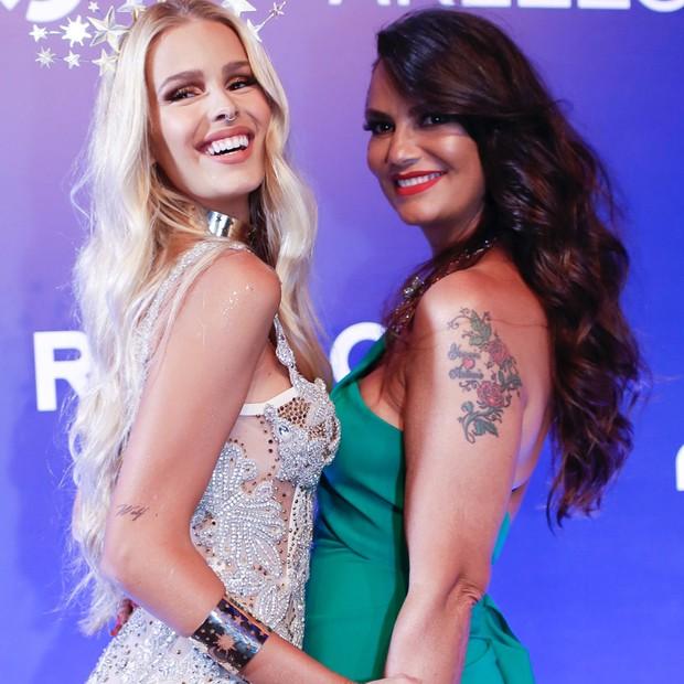 Yasmin e Luiza Brunet (Foto: Reprodução/Instagram)