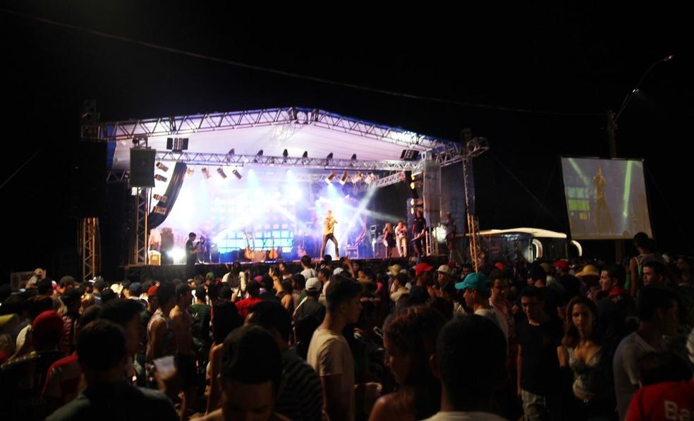 Festival de praia é tradicional em Pimenteiras do Oeste (Foto: Assessoria/Divulgação)