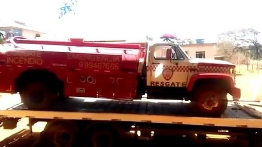 Voluntários suspeitam de sabotagem em caminhão de combate a incêndio do G-3 Resgate em Pitangui