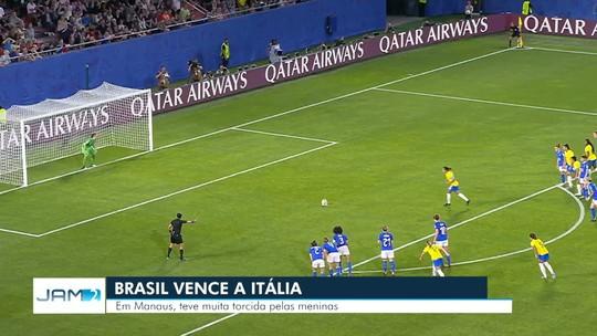 Manauaras acompanham vitória do Brasil em cima da Itália