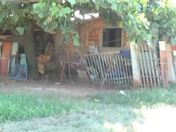 Uma das casas em que Ismael viveu com a família (Foto: A Raça de Ismael/Reprodução)