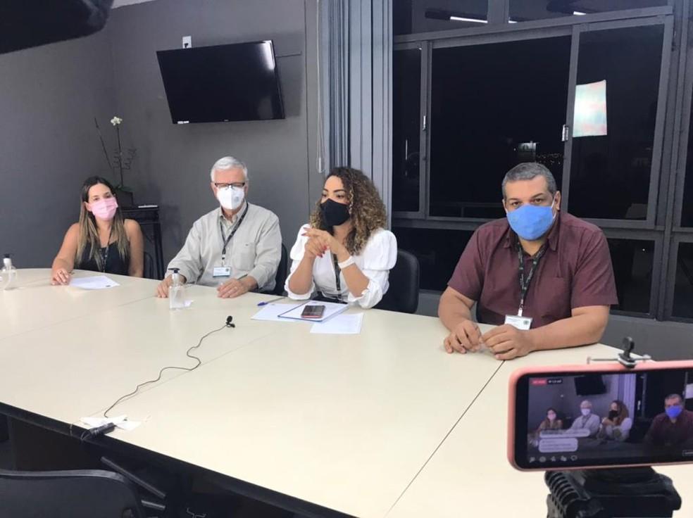 Novas medidas foram divulgadas em uma live da prefeitura de Bauru  — Foto: Prefeitura de Bauru/ Divulgação