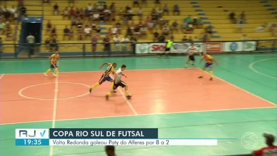 Volta Redonda goleia Paty dos Alferes pela Copa Rio Sul de Futsal