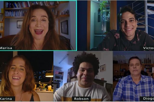 O novo elenco do 'Zorra' (Foto: Reprodução)