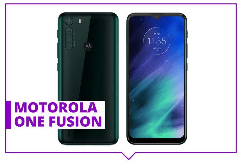 Motorola One Fusion — Foto: Divulgação