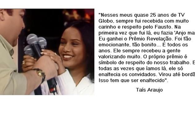 Taís Araujo escolhe prêmio recebido pelo papel na novela 'Anjo mau' (Foto: Reprodução)