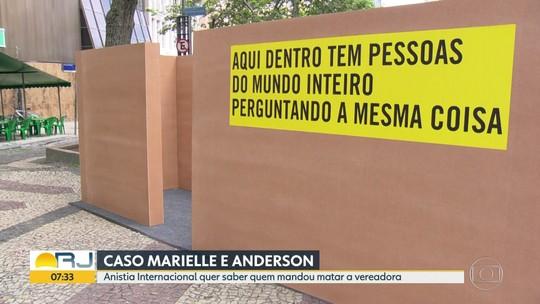 Anistia Internacional quer saber quem mandou matar Marielle Franco