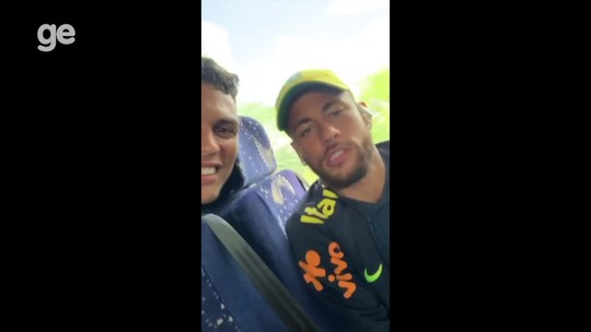 """Neymar manda recado para fã que treina em """"CT improvisado"""" em sítio e sonha em ser jogador"""