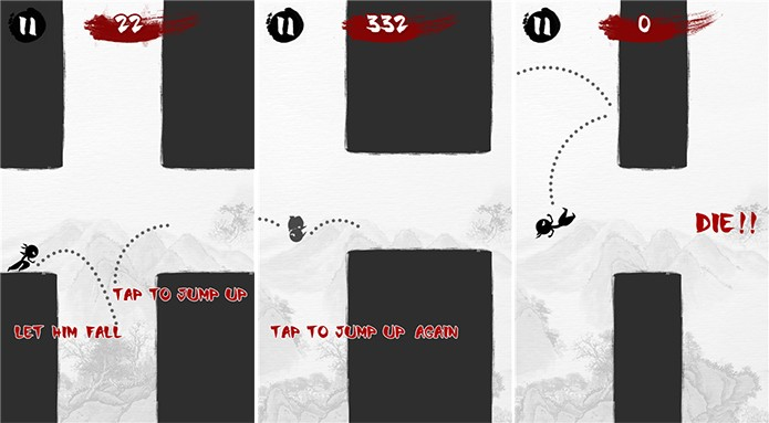 Amazing Ninja é um game para Windows Phone no estilo Flappy Bird (Foto: Divulgação/Windows Phone Store)