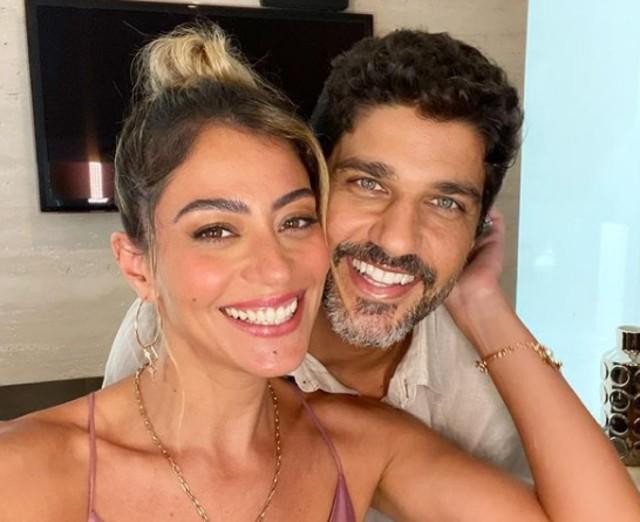 Carol Castro e Bruno Cabrerizo (Foto: Reprodução)