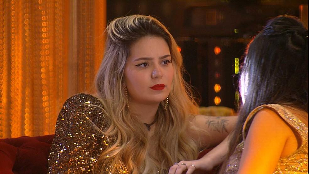 Líder Viih Tube revela a Juliette quem deve indicar ao Paredão — Foto: Globo