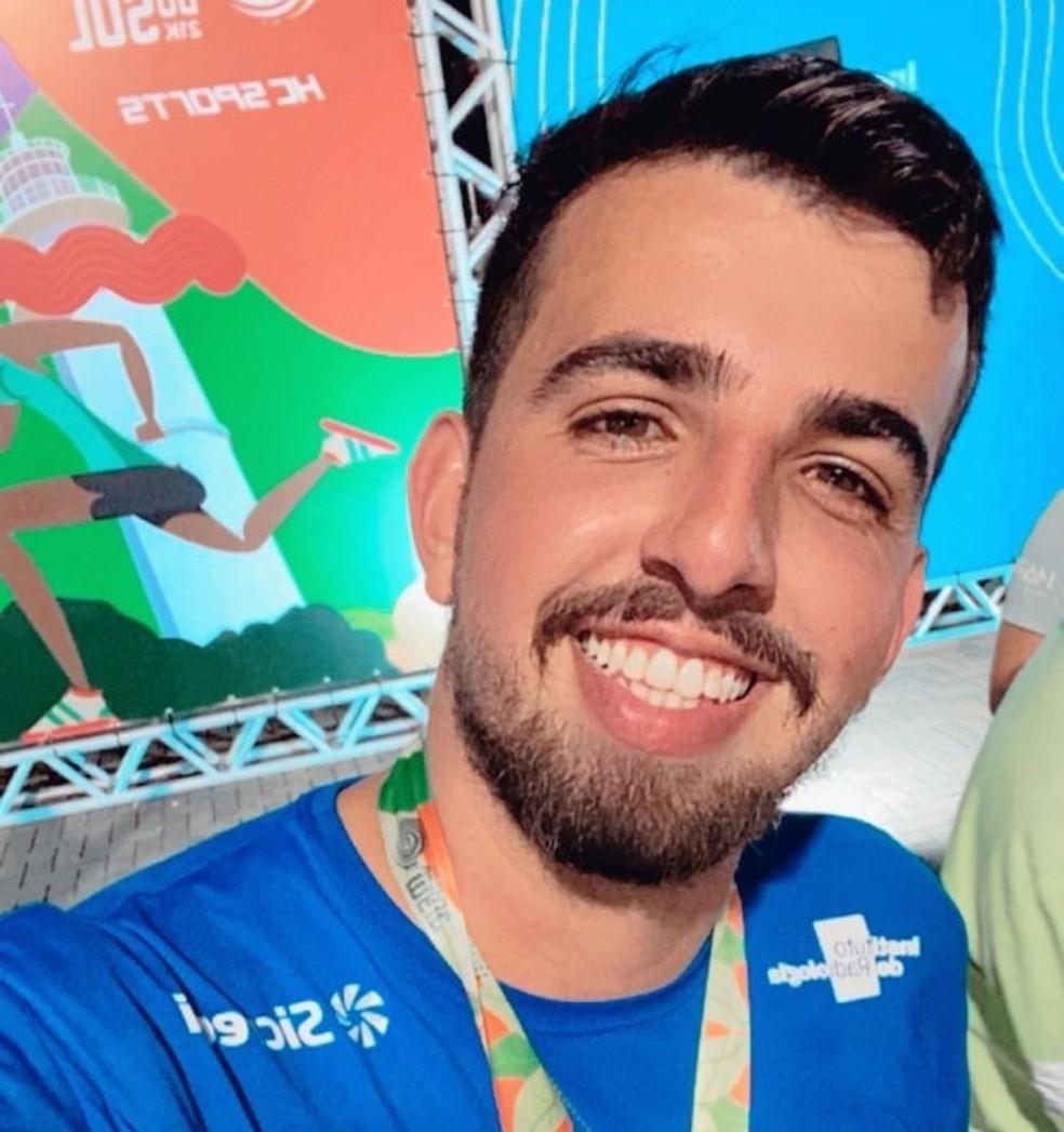Paraibano viajou para Natal para participar de uma meia maratona — Foto: Reprodução/TV Cabo Branco