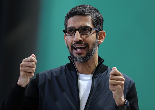 Sundar Pichai, CEO do Google (Foto: Getty Images)