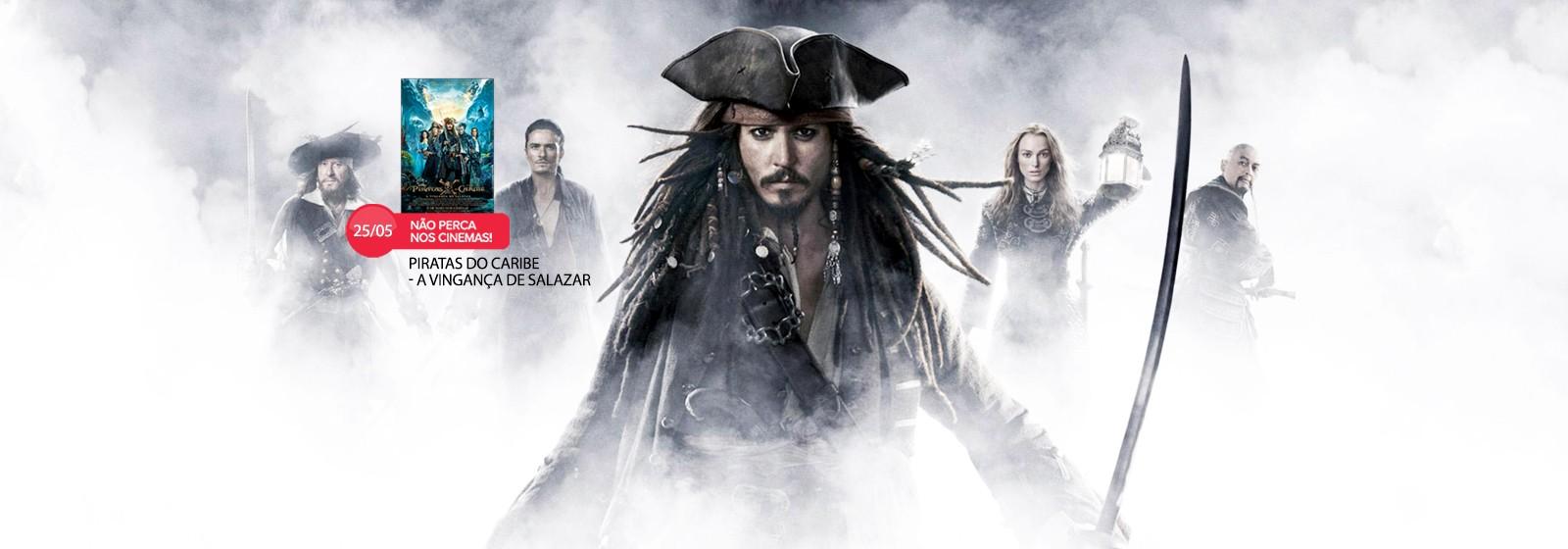 Especial Piratas do Caribe