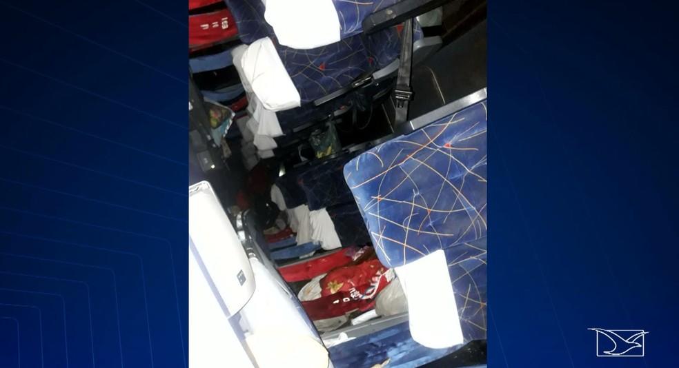 Envolvidos no acidente eram comerciantes da região do Alto Turiaçu que vinham de Fortaleza, no Ceará — Foto: Reprodução/TV Mirante