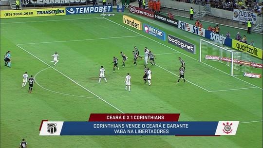 Loffredo diz que Corinthians conseguiu vaga na Libertadores mais por incompetência dos adversários