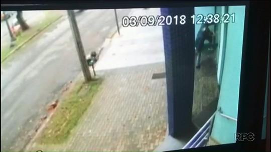 Homem é preso e menor é apreendido suspeitos de roubar joalheria em Umuarama