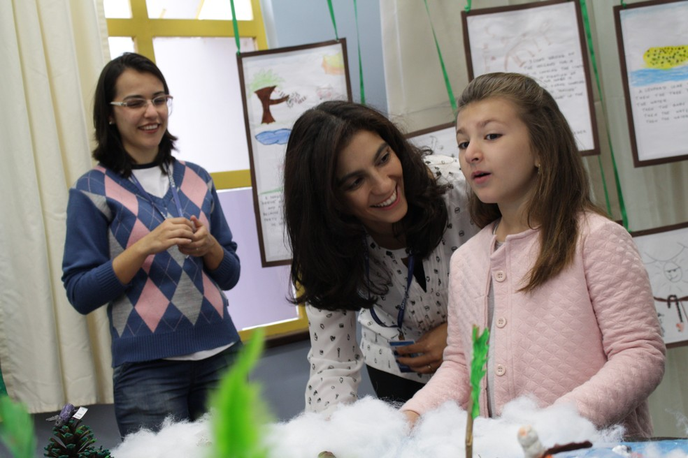 Professores com vivência internacional compartilham com os alunos experiências em diferentes culturas (Foto: Divulgação)