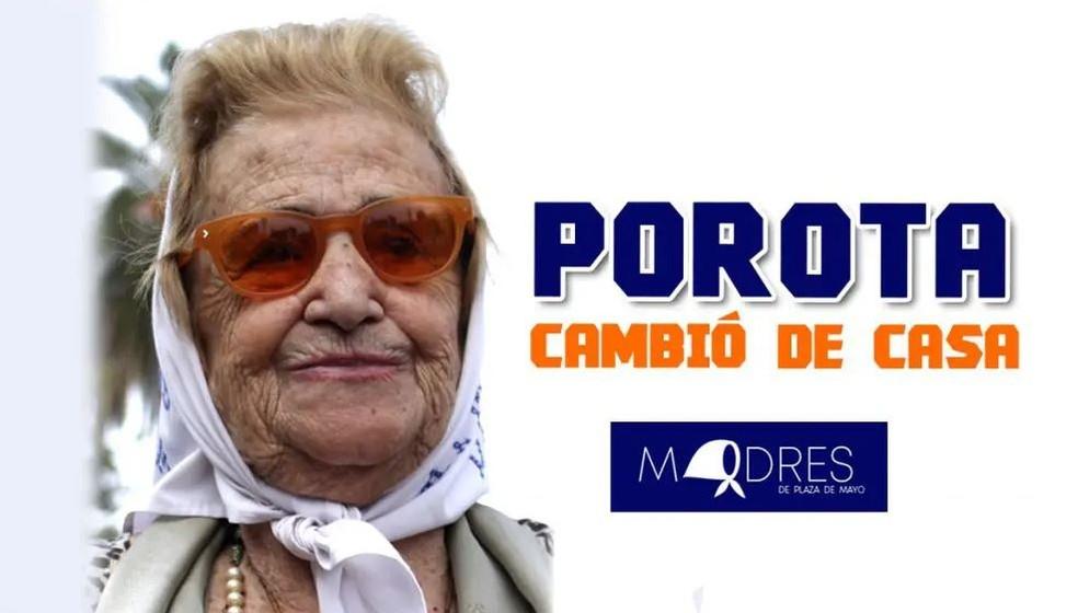 Morre aos 95 anos a vice-presidente das Mães da Praça de Maio na Argentina — Foto: Reprodução / madres.org