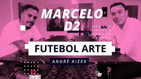 """Marcelo D2, rubro-negro fanático, declara: """"Não vejo um Flamengo tão bom desde 81"""""""