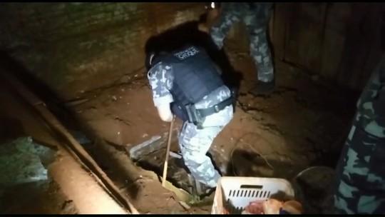 Polícia encontra mais de R$ 500 mil enterrados em fossa de uma casa em Maringá