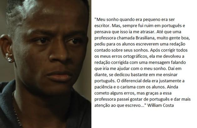 William Costa retorna na segunda temporada (Foto: TV Globo)