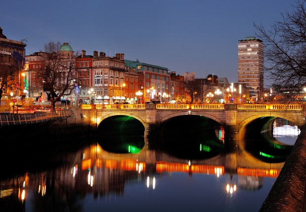 Dublin, na Irlanda (Foto: Thinkstock)