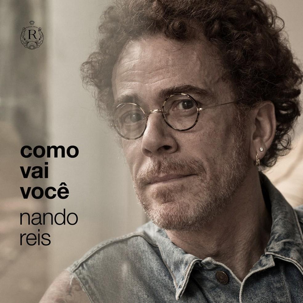 Capa do single 'Como vai você', de Nando Reis — Foto: Jorge Bispo