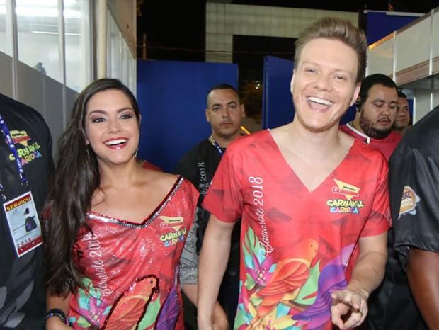 Michel Teló e Thaís Fersoza (Foto: Daniel Pinheiro/AgNews )