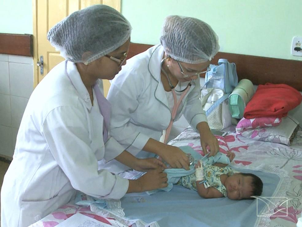 Imagem ilustrativa de enfermeiras trabalhando (Foto: Reprodução/TV Mirante)