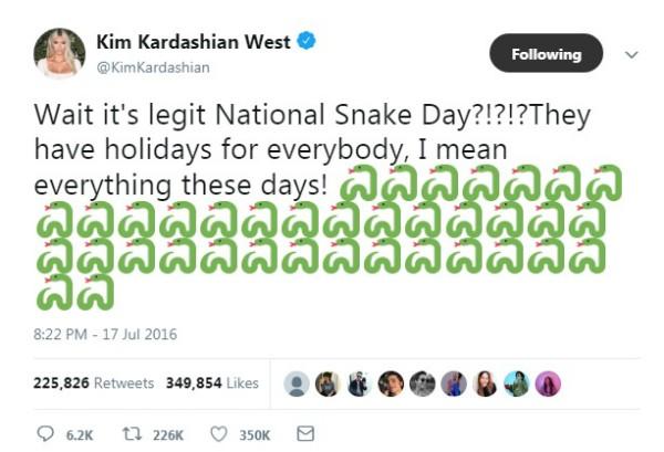 Post de Kim contra Taylor (Foto: Reprodução Twitter )
