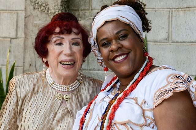 Berta Loran e Cacau Protásio (Foto: Divulgação)