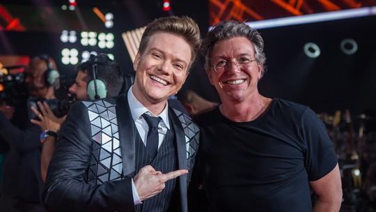 Boninho participa do 'The Voice Live' e brinca com mais uma vitória de Michel Teló