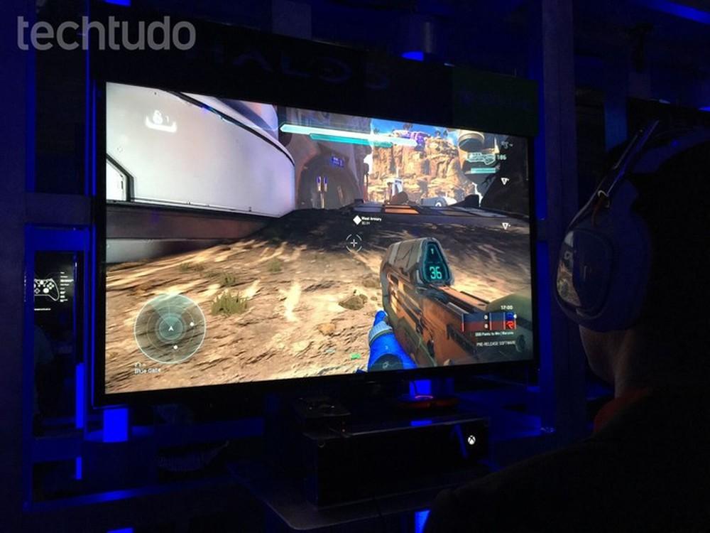 Halo é uma das séries mais aclamados do mundo dos gamers (Foto: Viviane Werneck/TechTudo )