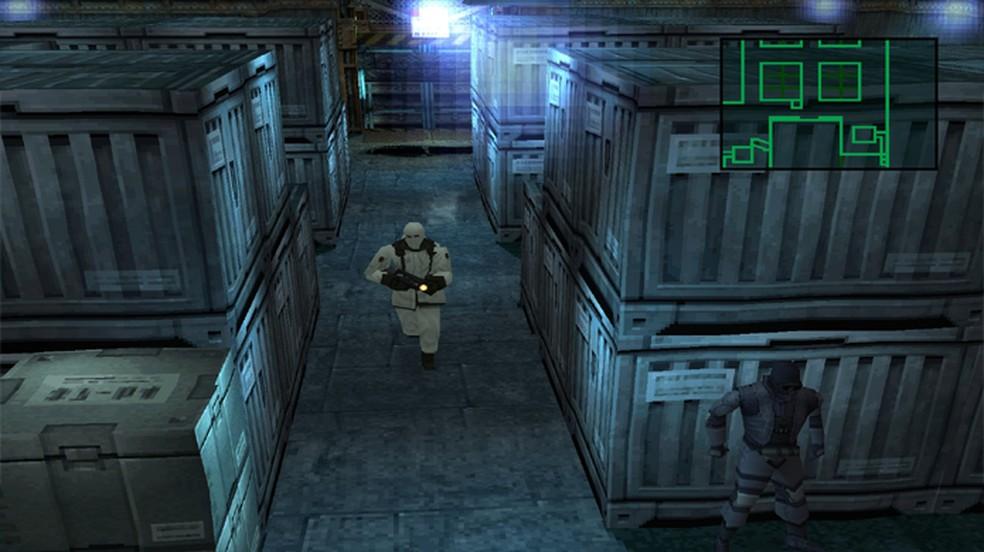 Metal Gear Solid surpreendeu com o retorno de um clássica franquia modernizada para o PSOne — Foto: Reprodução/Gaming Rebellion