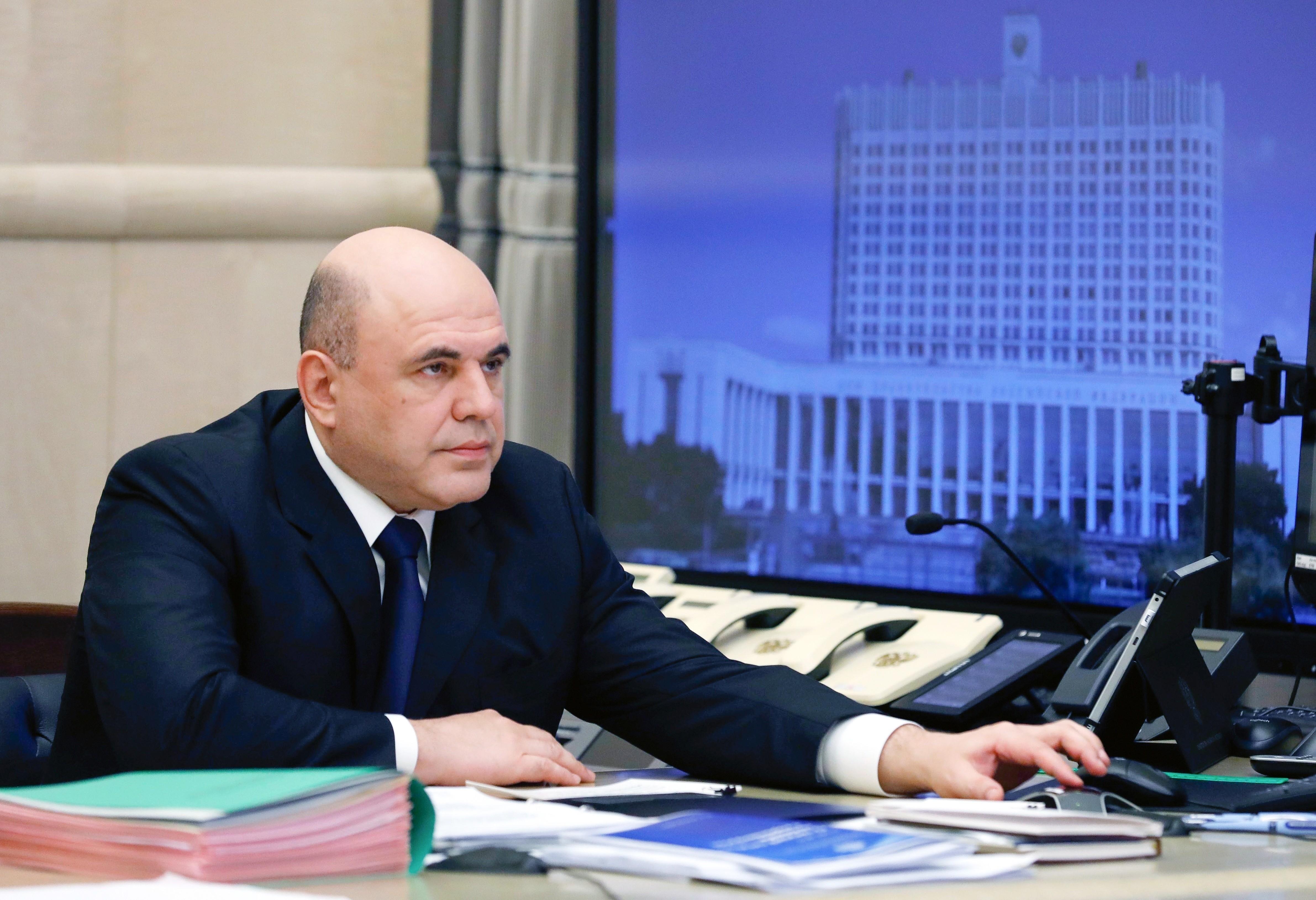 Primeiro-ministro da Rússia está com novo coronavírus