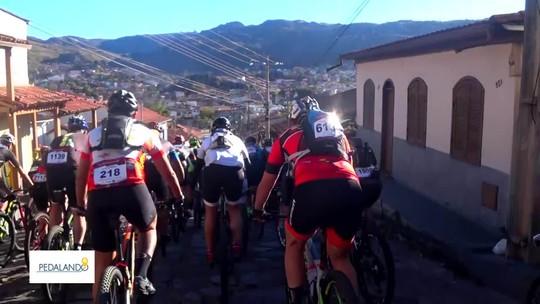 Pedalando: repórter do G1 enfrenta ultramaratona de bike em Diamantina