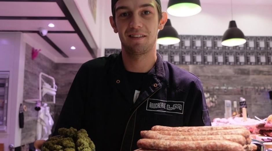Luca Morand, criador de linguiça com maconha (Foto: Divulgação)