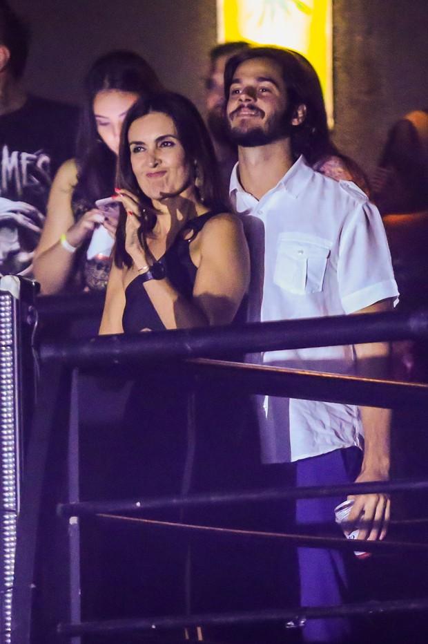 Fátima Bernardes e Tulio Gadelha (Foto: Manuela Scarpa/Brazil News)