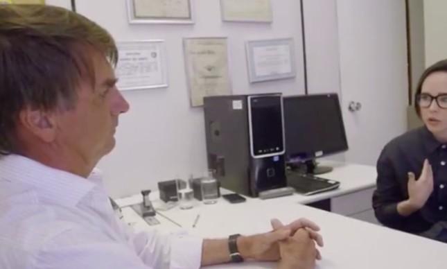Ellen Page entrevistou Jair Bolsonaro em documentário em 2016