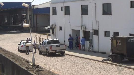 Polícia inicia perícia em transportadora atingida por incêndio em Sumaré