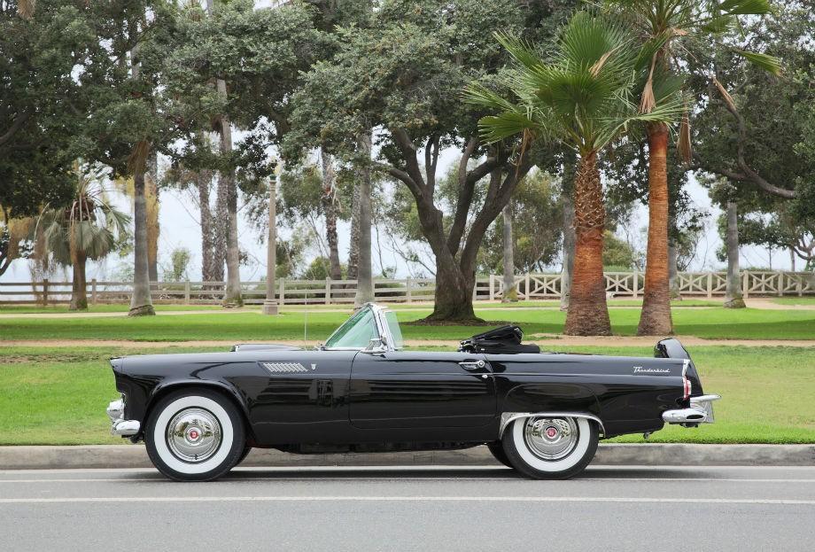 O carro da atriz Marilyn Monroe vendido em um leilão nos EUA (Foto: Divulgação)
